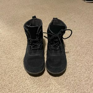 Sorel Boot / Slipper Black Suede
